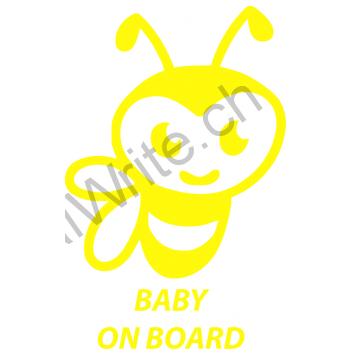 Adesivo bimbo a bordo Ape On Board