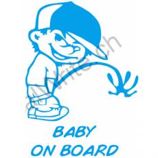 Adesivo bimbo a bordo Bambino monello On Board