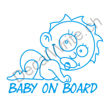 Adesivo bimbo a bordo Bimbo On Board