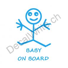 Adesivo bimbo a bordo Bimbo stilizzato On Board