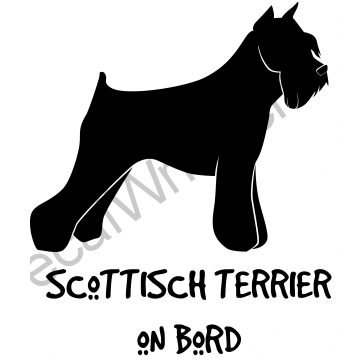 Scottish Terrier on Board