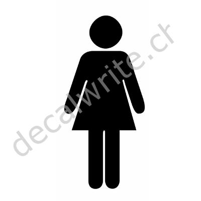 Bagno wc donne adesivi decalwrite - Ragazze spiate in bagno ...